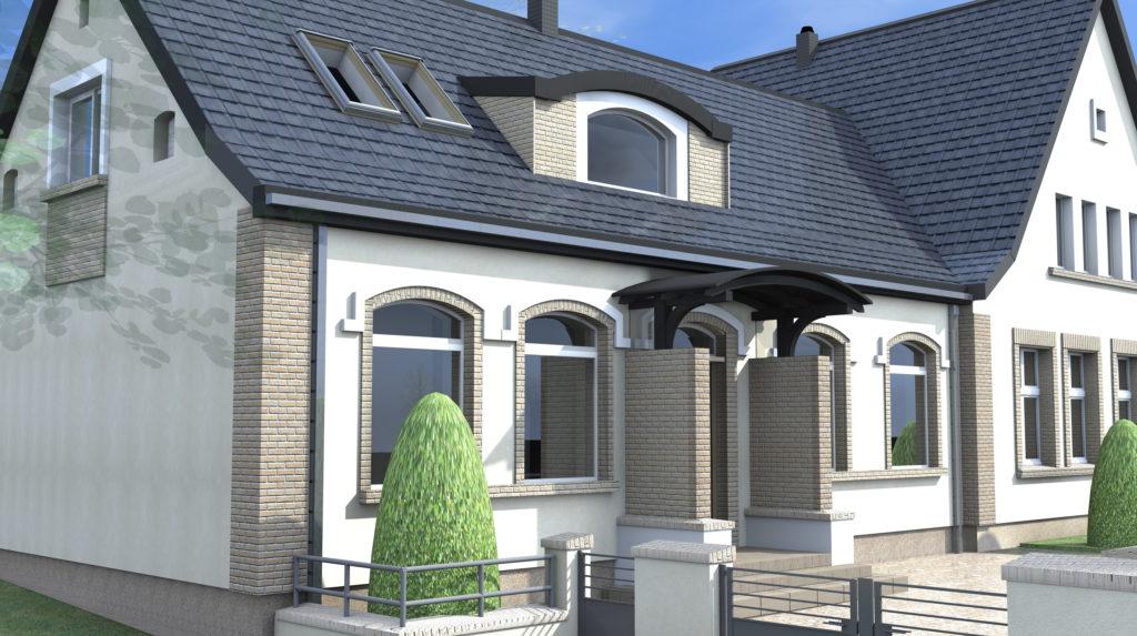 Rewaloryzacja zabudowań mieszkalnych i gospodarczych we Friedrichsthal
